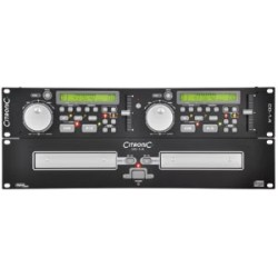 Citronic DJ Dobbelt CD-afspiller CD-1.4 170.703