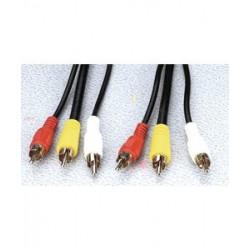 Audio / Video kabel ledning til forbindelse mellem DVD/VHS - TV
