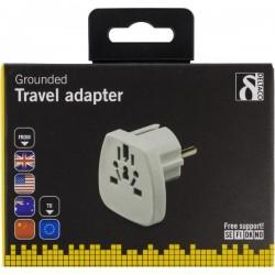 World to EU travel adapter
